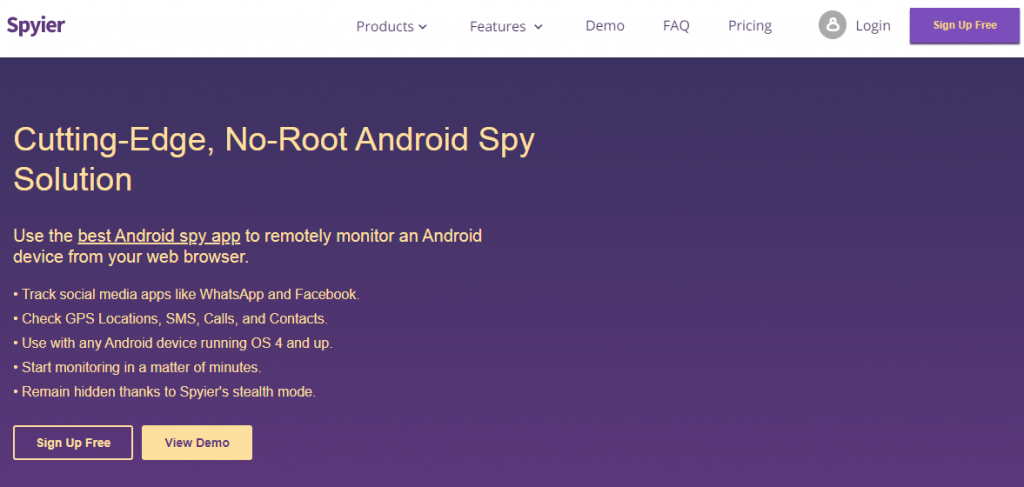 Spyier Android Spy