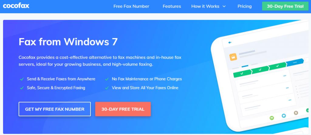 Windows 7 Fax