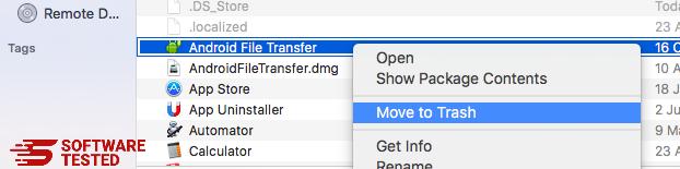 Mac Move to Trash