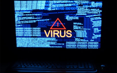 Computer Dark Word Virus