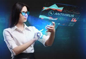 Antivirus on Virtual Screen