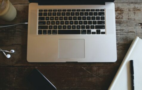 Macbook Pro and Headphones