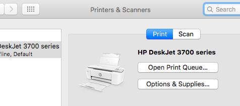 Mac Printers and Scanners