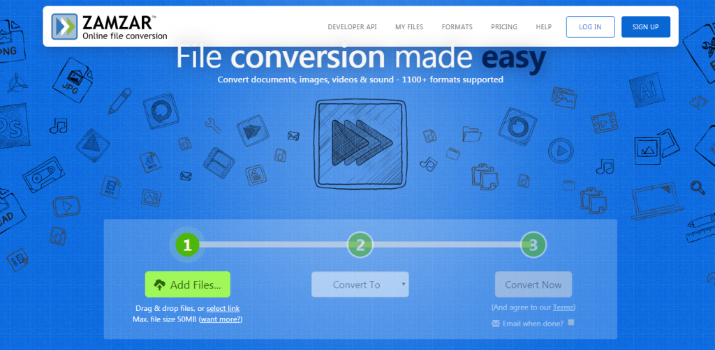 Zamzar Online Converter