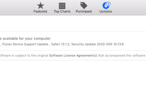 Software Update Preference Pane