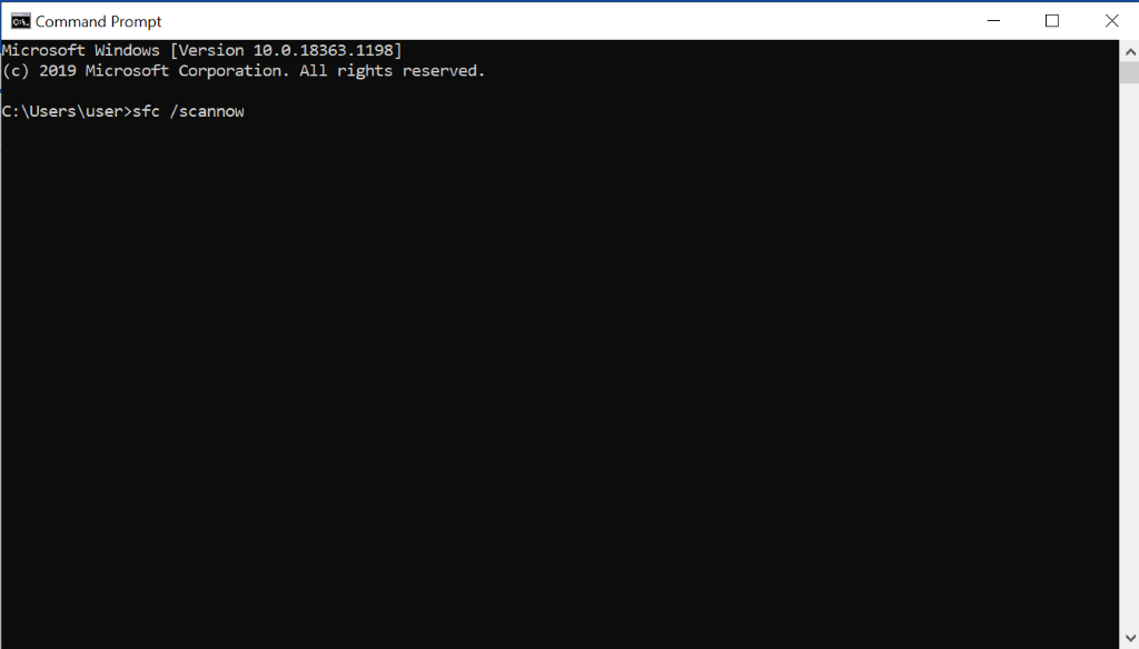 Windows Command Prompt