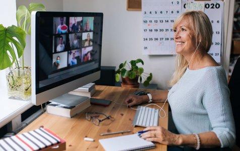 Woman Having Video Call