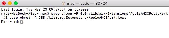 Run Mac Terminal
