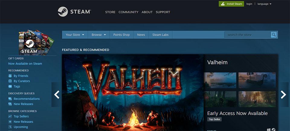 Steam Game App