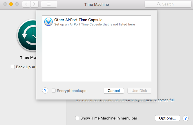 Other AirPort Time Capsule