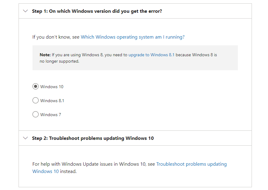 Windows Update Troubleshooter Steps