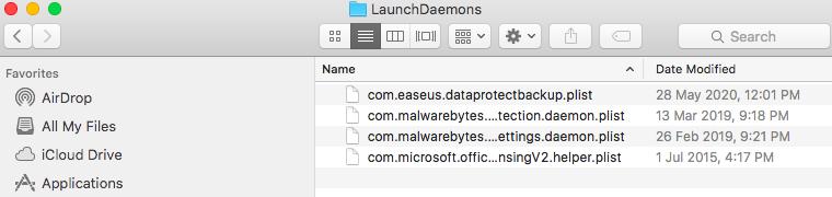 Launch Daemons