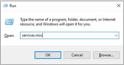 run - services msc