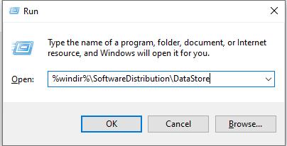 Run - DataStore