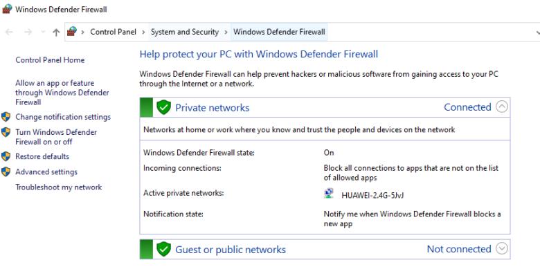 Windows Update or Firewall Error 0x8007042c