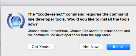 Install or Reinstall the Command Line Tools.